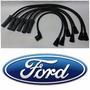 Cables Bujia Ford 200 250 Zephyr Granada Maverick 6cil #4656