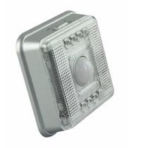 Luminária Com Sensor De Presença 8 Leds