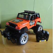 Carro Nikko Jeep Rubicon Monster Escala 1:14