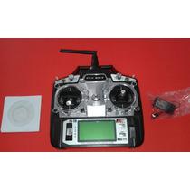 Flysky Fs T6 2.4ghz. Digital Proporcional Controle 6 Canais