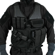 Tb Chaleco Tactico Blackhawk Omega Elite Cross Draw Vest