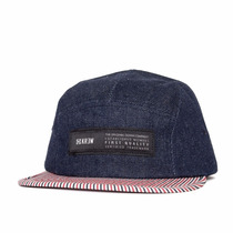 Boné Five Panel Krew Refused Indigo Importado Original