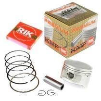 Kit Pistão C/ Anéis Honda Cb/xre 300 Kmp / Rik 1,00 Mm