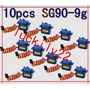 10 Micro Servo 9g Sg90 Towerpro Original + Acessórios