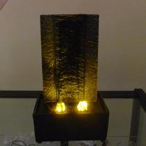 Fuente Decorativa Tipo Cascada Con Luz Led
