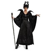 Malefica Disfraz Original Disney Mujer Talla L
