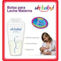Bolsas Almacenamiento Leche Materna - Uhbaby! X 50 Unidades