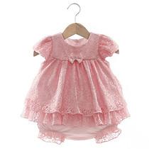 Vestido E Calcinha Melissa Rosa - Beth Bebê