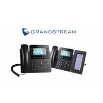 Grandstream Gxp2170 - Telefone Ip Gigabit Poe 12linhas + Mod