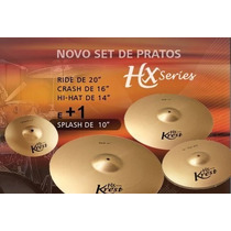 Set Prato Krest Hx Series 14/16/20 Bag +10sp (920)