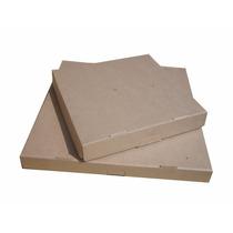 50 Cajas Para Pizza 30x30+5 De Carton Cafe