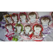Bonecas De Pano 35cm Com Nome E Cheirinho Bonecas Gaia