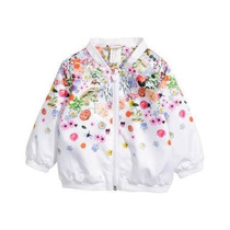 Campera Imperm Sin Friza Marca Hym Tall 4/6 Meses Chica
