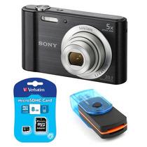 Camara Sony W800 + Memoria 8gb + Lector + Cuotas Ramos Mejia