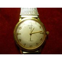 Antiguo Reloj Elgin De Cuerda Y Pulso.