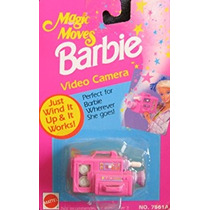 Juguete Barbie Magia Mueve Cámara De Vídeo - Wind It