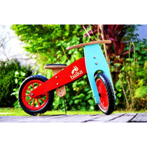 Bicicleta De Madera Baika Sin Pedales Edic Lim Envio Gratis!