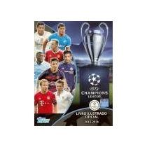 Uefa 15-16 Kit Álbum + 140 Pacotinhos Lacrados.