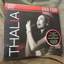 Thalia Viva Tour Cd/dvd Nuevo Y Sellado