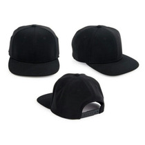 Gorra Plana Unicolor Snapback Al Mayor