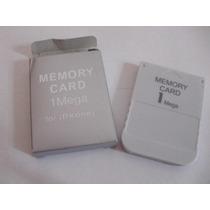 Memory Card Ps1 Na Caxinha Com Garantia Frete $ 15