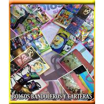 Bolsos Bandoleros Con Diseños De Alta Definición Y Jóvenes.