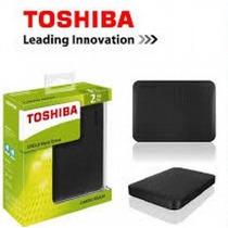 Hd Externo 2tb Slim Portátil Toshiba Hdtb320xk3ca Antichoque