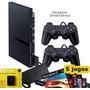 Playstation 2 Usado Destravado 2 Control 1 Memory Card 5 Jog