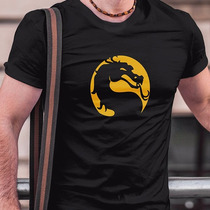 Playera Mortal Kombat Mk Xbox Dragon