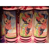 Minnie Mouse Centros De Mesa, Recuerdos, Lamparas 1 Regalo