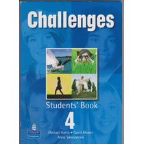 Challenges 4 Students Book ¡oferta! Nuevo