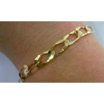 Pulseira Corrente Bracelete Ouro 18k 20 Cm - 3gr