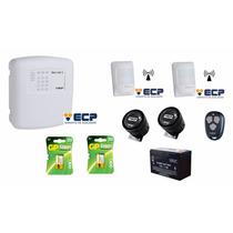 Kit Central Alarme Monitorada Gsm Max Cell4 Ecp + Acessórios