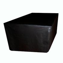 Capa Para Mesa De Bilhar / Sinuca Com Saia Luxo - Tamanho G