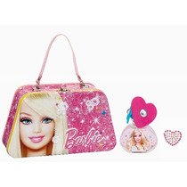 Perfume Barbie, Minnie, Princess Estuches Originales