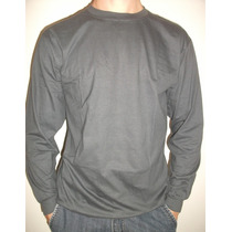 Camiseta Manga Longa Malha Fria Dry Fit 100%poliester/cores