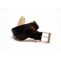 Cinturon Cinturones De Cuero De Vestir Negro Cueros Liberty
