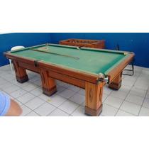 Mesa De Snooker Oficial Bronzik