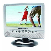 Tv Portátil Lcd 9 Polegadas + Controle Remoto C/ Radio Fm