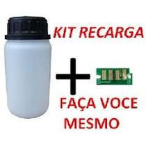 01 Kilo + 10 Chips Xerox 3010 / 3040 / 3045 Refil Qualidad
