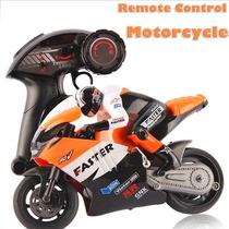 Rc Moto 1/16 Eletrica - Frete Grátis