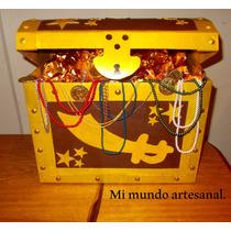 Piñata - Cofre - Jake Y Los Piratas - Tesoro