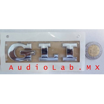 Emblema Cajuela Nuevo Vw Bora Gli Plata Original Mk5 2006-12