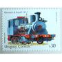 Osl Sello 2199 Uruguay Ferrocarril Locomotora Tren Afe