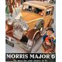 Morris Major 6 De 1932 - Autos Clasicos - Lámina 45 X 30 Cm.