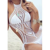 Body Em Crochê - Verão - Nova Tendência - Lindos Modelos