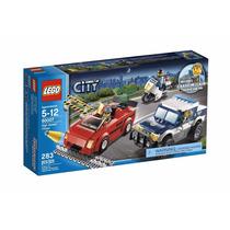 Lego City 60007 Policias Y Ladrones Persecucion Original