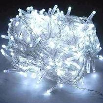 Pisca Pisca Led Natal Branco 100 Led 110v 10metros 8 Funções