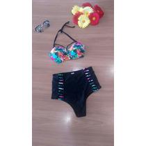 Biquíni Hot Pant Cintura Alta Panicat / Juju / Sabrina Sato