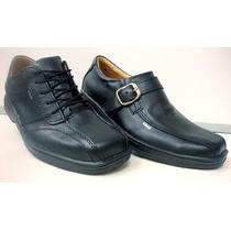 Zapato Hombre 100% Cuero Vacuno,39-45, 3 Modelos Exc Calidad